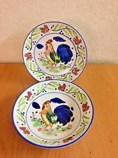 Coventry GOLDEN ROOSTER 1 Salad Dessert Plate \u0026 1 Soup/ bowl Set Handpainted & Coventry Dinnerware Plates | eBay