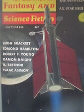 Fantasy & Science Fiction Magazine - October 1964; Leigh Brackett; Knight