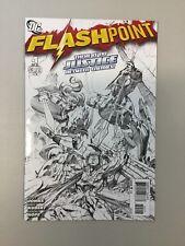 Flashpoint 4 Sketch Variant DC comics 2011 Geoff Johns Andy Kubert