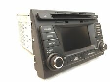 2011 2012 2013 Kia Optima Oem Sirus Jukebox Am Fm Radio Cd Player Receiver