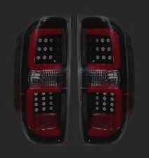 RECON TOYOTA TUNDRA SMOKED LED TAIL LIGHTS 14-16 PART# 264288BK