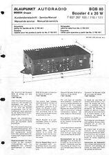 Blaupunkt Service Manual für BQB 80