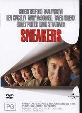 Sneakers DVD RIVER Phoenix, David Strathairn, Robert Redford, Sidney Poitier