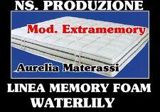 Materasso in MEMORY FOAM HD Singolo 80x190X24 + 1 CUSCINO IN OMAGGO!