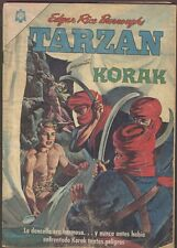 Tarzan #169 Korak Comic Spanish Mexican Novaro 1965