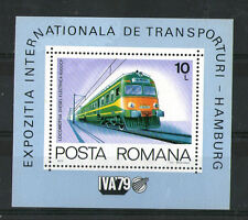 Roumanie 1979 Train Diesel IVA 79 Miniature Sheet SG MS 4541 neuf sans charnière