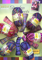 (8,60 €/ 100g) 50 gr Regia Sock Yarn Garden EFFECTS DESIGN KRISTIN NICHOLAS