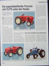 PORSCHE DIESEL L und JUNIOR Traktor, Trecker von AUTODROME...ein Modellbericht