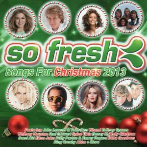 SO FRESH Songs For Christmas 2013 2CD - John Lennon Karise Eden Elton John Abba