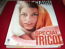 REVUE MARIE CLAIRE spécial tricot  N°88 1962    mode fashion