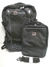 NEW M-PAKS Travel/Adventure Backpack With Messenger Bag and Frame/Chair