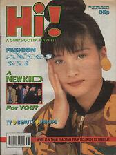 Hi! Magazine 22 September 1990   Halo James   Mark Stevens   Jon Bon Jovi