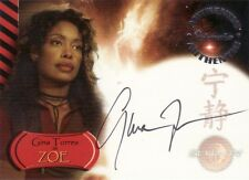 Serenity The Movie Gina Torres as Zoe A2 Auto Card Firefly