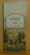 TED BAKER---JOURNEY COMPANION---WOODEN PEN--- BALLPOINT PEN BRAND NEW BOXED