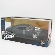 Jada 1:24 Fast And Furious Dom's Plymouth GTX  Diecast Car Model Toy