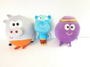 """Hey Duggee 6"""" Roly, Tag & Betty Plush Soft Toy Golden Bear Non Talking."""