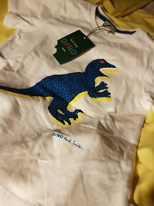 BNWT CHILDRENS DINO T SHIRT BY PAUL SMITH AGE 4-5 YEARS