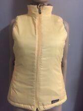 NWOT Yellow/ gray reversible down vest by Patagonia  sz XS