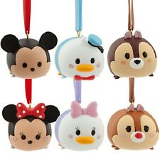 TSUM~ORNAMENT~Mickey+Minnie+Daisy+Donald Duck+Chip+Dale~NWT~Disney Store~STAMP