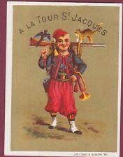 Chromo 010815 - À la tour St Jacques - Zouave - F. Appel 12 rue du Delta à PARIS