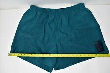 12e2ec5851472 Vintage Speedo Trunks Mens Size XL Surf Shorts Green Teal 80s 90s
