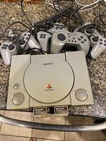 Sony PlayStation 1 PS1 Console Parts Only SCPH-1001  Controller A/V AC Adapter