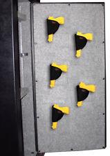 Acorn Gun Safe Pistol Holsters 5 Pack Handgun Pistol Storage Solution Hook Loop