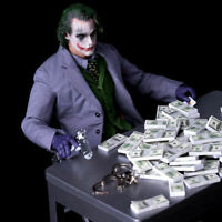 """10Pcs 1/6 Scale US Dollars Cash Money Double Printed For 12"""" Action Figure Body"""