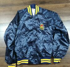Vintage Nylon Bomber Jacket Small Pizza Hut Blue Capital