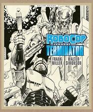 Walter Simonson's ROBOCOP VS. THE TERMINATOR GALLERY EDITION HC