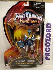 "Power Rangers Mystic Force MYSTIC SOUND BLUE POWER RANGER 5.5"" Bandai 2006 New"