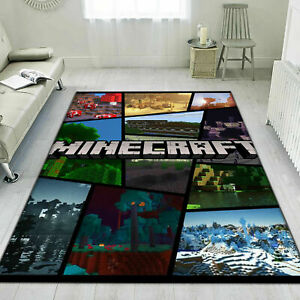 Game Zone Minecraft Rig For Living Room - Area Carpet Rug For Any Room