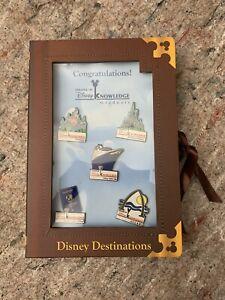 Disney Knowledge Graduate Pin Set - Rare