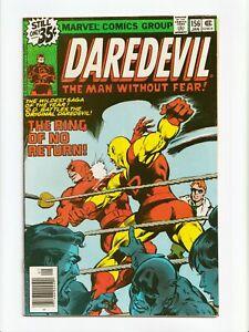 Daredevil #156 Bronze Age Marvel Comics 1979