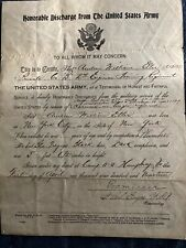 1919 Wwi Discharge