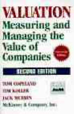 Measuring and Managing the Value of Companies (Second Edition), Copeland, Tom &