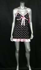 Jennifer Moore Intimates Nwt Black Swan Print Chemise Nightgown Pajamas Sz Xs Buy Now Sleepwear & Robes
