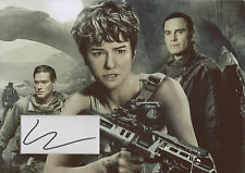 KATHERINE WATERSTON Signed 12x8 Photo Display ALIEN: COVENANT COA