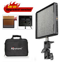 Aputure Amaran AL-528W High CRI 95+ LED Video Stuido Light Panel + Filter