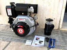 Motore Zanetti Diesel 7 cv albero conico per motozappa avviamento elettrico