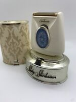 VINTAGE MID 1960s LADY SUNBEAM ELECTRIC SHAVER Razor With Case And Stand