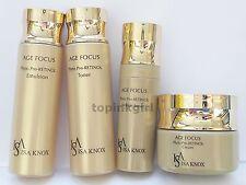 ISA KNOX Age Focus Phyto Pro Retinol 4 items Set Toner Emulsion Cream Serum New