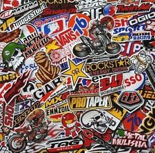 120 Mixed Random Stickers Motocross Motorcycle Car ATV Racing Bike Helmet Decal