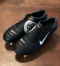 NEW Nike Air Zoom Total 90 III SG US Sz 6 RARE Soccer Black Cleats 308228-012