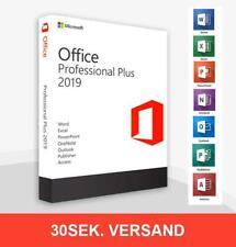 Ms Office 2019 Professional Plus Lizenz, Vollversion, Lebenszeit