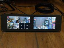 "Blackmagic Design Smartview Duo Dual 8"" Rack video monitors"