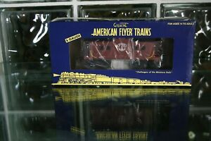 S Scale Lionel American Flyer Lighted Caboose 6-47972 B&M C-48
