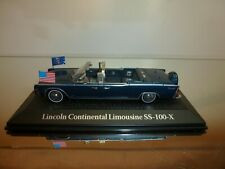 NOREV ATLAS PRESIDENTIAL CARS LINCOLN CONTINENTAL LIMOUSINE SS-100-X - GOOD