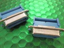 24 way metal shell câble ruban connecteur, 622-24FAM, 2 par vente!!!