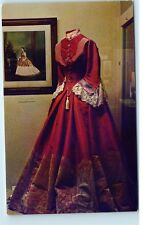 Nevada State Museum Exhibit Mrs. Ormsby Dress Gown Inaugural Ball Postcard C76